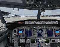 A few insights on flight simulations and games (trainin