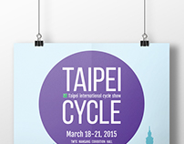 Taipei Cycle 2015 Key Visual