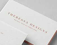 Theressa Designs Bridal Boutique | Branding