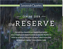 Savannah Quarters Reserve Neighborhood Launch