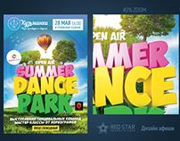 Poster Summer Dance Park