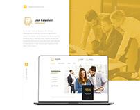 Web design - lawyer