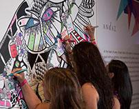 BRAND PARTNERSHIP - Andaz Interactive Art Wall