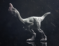 Creature Concept // Oviraptor with textures