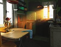 Old Soviet Kitchen