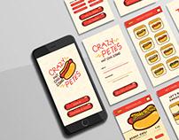 Crazy Pete's Hotdog App