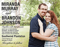 Johnson Wedding Invitations