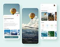 Traveling App Design