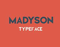 Madyson Typeface