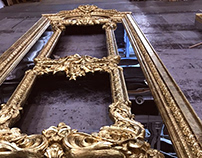 GOLD _ scenic painting