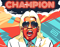 World Champion Ric Flair AKA The Nature Boy