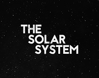 THE SOLAR SYSTEM . Creative Project - 2015