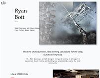 Ryan Bott - 2017 Homepage