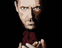 House MD Illustration (Hugh Laurie)