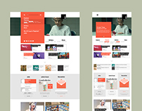Creative Review Website Redesign Concept