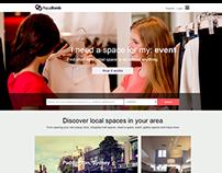 PopupBrands - List & book spaces site (Australia 2014)