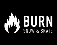 Burn Snow & Skate - Logo Animation
