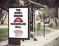 Event Poster for Rocky Horror Masquerade Ball