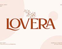 Lovera-Elegant Serif Font