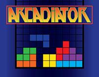Tetris-inspired decal