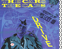 The Cars Taxi Driver Mash Up Album Art