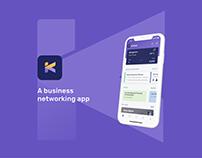 Kelasa Mobile App for Business Networking