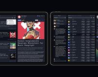 MoonHub. Crypto aggregator platform