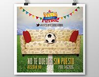 Vives la fiesta del fútbol