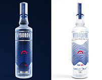 Vodka Wyborowa bottle