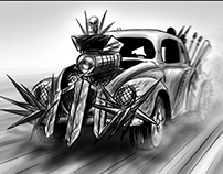 'Mad Max' Sample Animatic