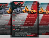 Automotive Idea Flyer Design