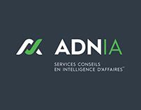 ADNIA / Réalisation de l'identité corporative