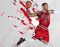 Derrick Rose Desktop Wallpaper