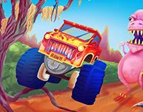 Dinomash Promotional Poster