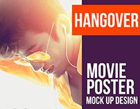 Hangover Movie Poster Mock Up Creative Design