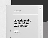 Bold Questionnaire and Brief for Web Design