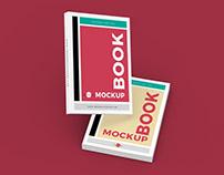 Free Stylish Books Mockup PSD