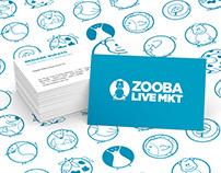 Identidade Visual ZOOBA Live Mkt