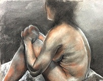 Explorative Palette Figure Drawings
