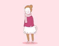 Chicas Morfi- Ilustraciones