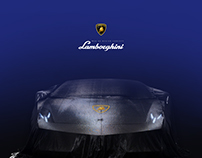 Lamborghini - Web Re-Design Concept