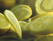 Salad and Lemon Tea TVC