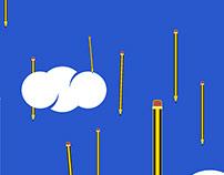 Rain -pencil-