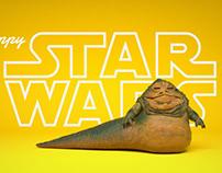 Happy Star Wars Day in C4D