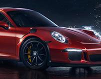 Porsche RS GT3 Night City