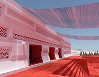 Mitla - entrada del palacio