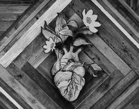 Wood Burned Heart