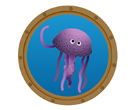 Jellyfish Messaging Stickers