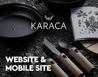 Karaca Web & Mobile Site Concept