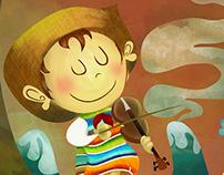 """Ilustremos en Bola: Juancho """"Violinista de Huapangos"""""""